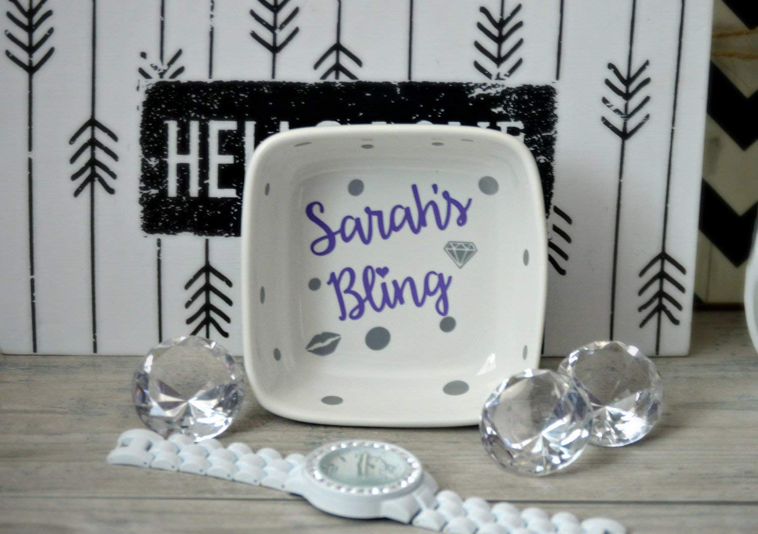 Jewelry Ring Dish, Jewelry Dish,Engagement Gift, Engagement Ring Holder, Wedding Ring Dish, His and Hers Gift, Mr and Mrs Ring Dish