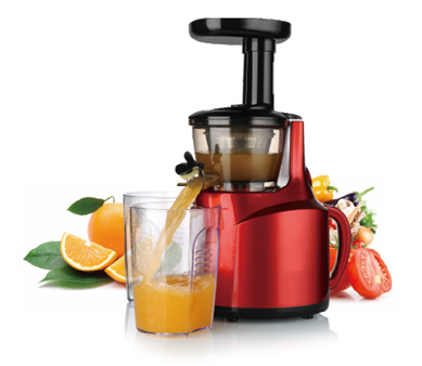 Lower vibration Masticating slow speed juicer