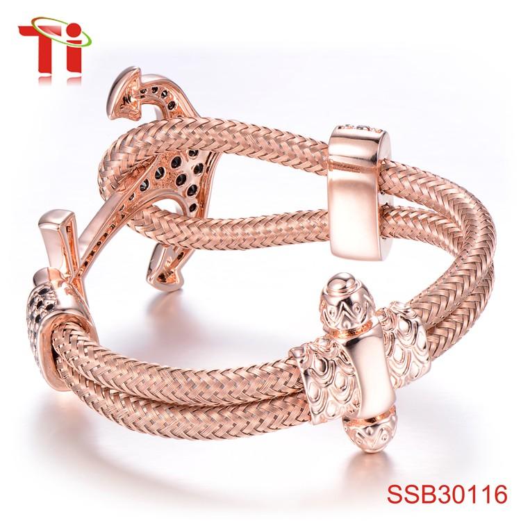 new gold bracelet designs for men anchor bracelet bangle rose gold ...