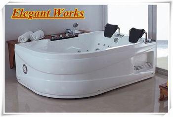 Whirlpool Bad Vrijstaand : Twee personen hydrotherapie draagbare kleine vrijstaand bad spa
