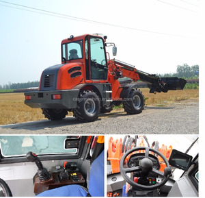 Multifunction Machine 1.5T TELESCOPE LOADER CASER 1500 CE EPA UTV 1.5 Ton 1500kg EPA 4 Engine