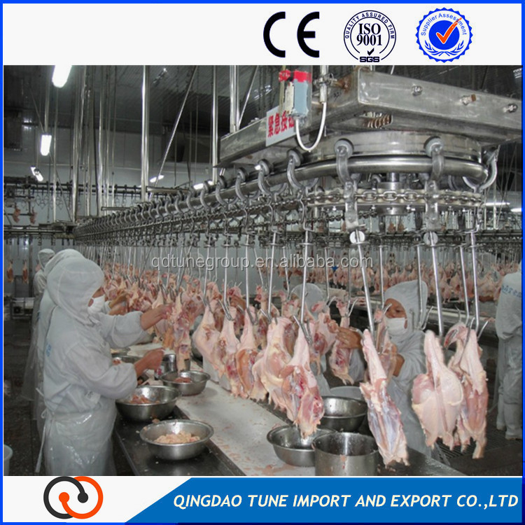 Livestock Slaughtering Line poultry slaughtering production line