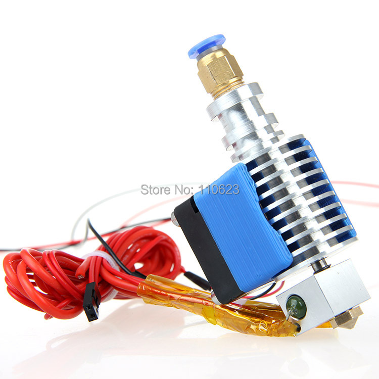 All Metal long-distance J-head hotend reprap 3d printer extruder cooling fan 0.3/0.35/0.4/0.5mm nozzle 1.75/3mm filament