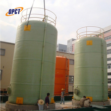 FRP tank industrial used for storage oil liquid chemicals