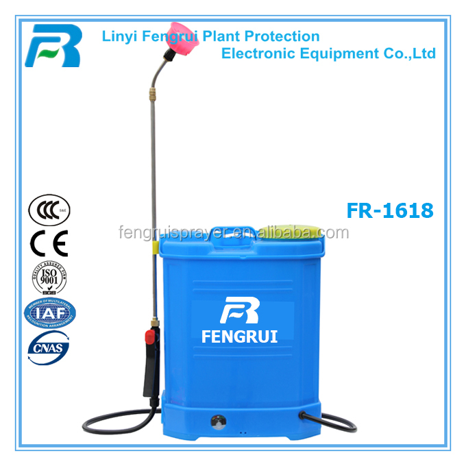 16L china good quality agricultural battery sprayer