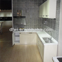 South America PVC Thermofoil MDF kitchen cabinet door