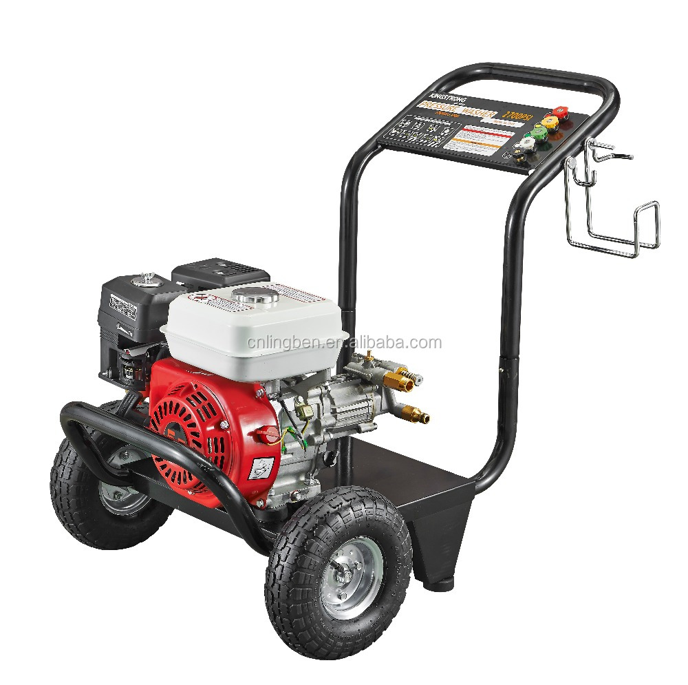 Lingben China 130bar 1900PSI high pressure gasoline engine power washer