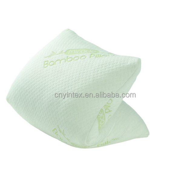 Wholesale Comfortable Sponge Hotel Bamboo Pillow
