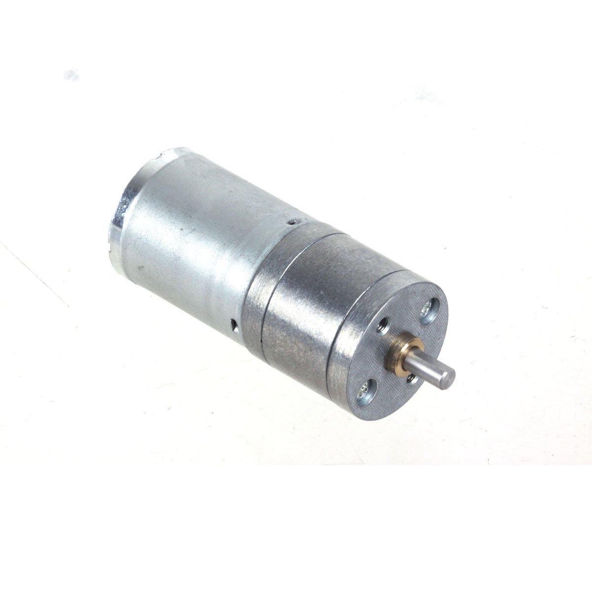 DC 12V 160mA 150RPM 2.04Kg-cm High Torque Permanent Magnetic DC Gear Motor