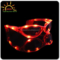 LED flashing sunglasses for use at party or intense daylight,fashion design,logo can be printed,Shenzhen manufacturer