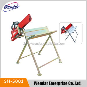 Saw Horse & Log Sawhorse With China Saw Holder