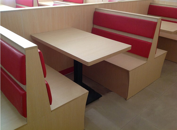 Double Restaurant Booth/booth Seating/restaurant Furniture
