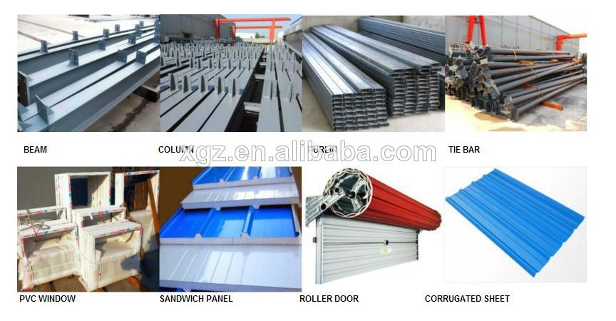 High quality Steel structure metal building