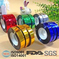 High quality custom reinforced colored aluminum foil tape/adhesive tape