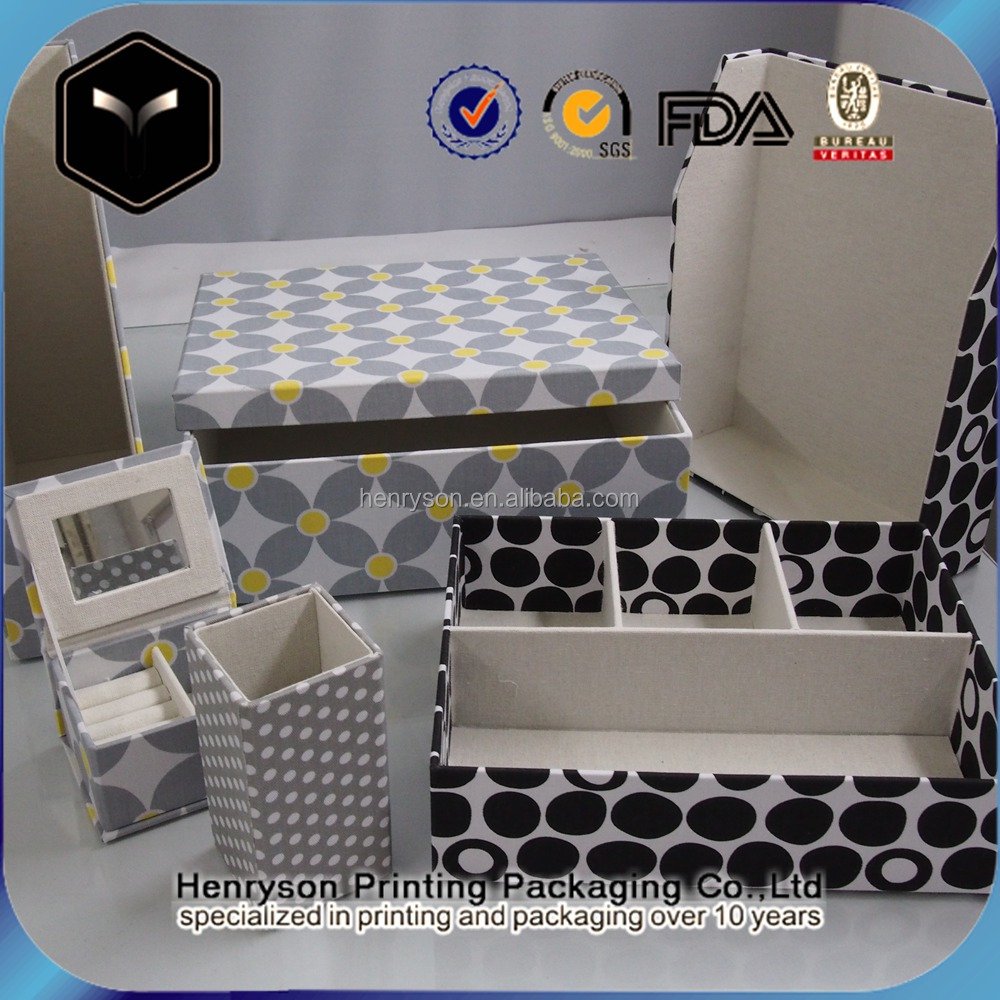 Manufacturer Price For Office Used Storage Case Set Fabric Office Stationery