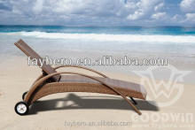 GW3088-L1 POP outdoor furniture rattan chaise lounge