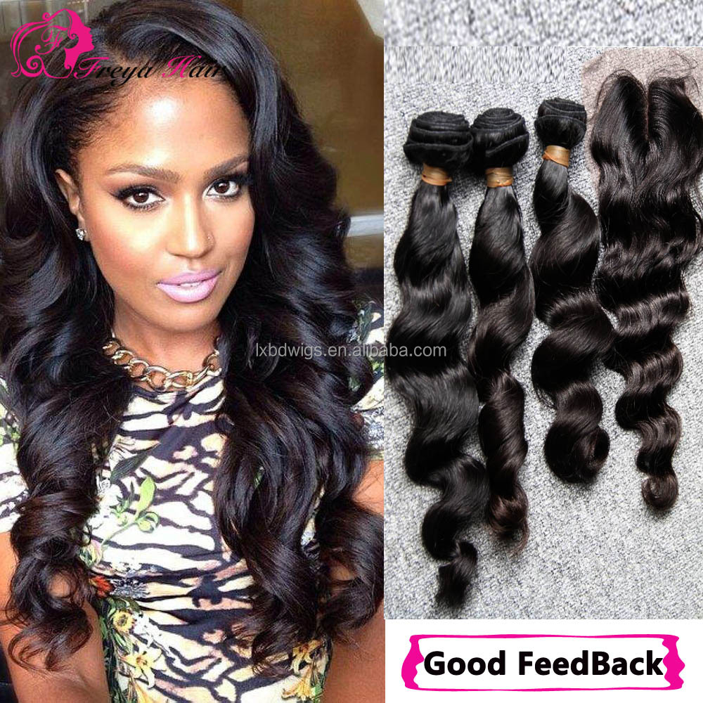 Fast Shipping Good Feedback Wholesale Loose Wave 8A Grade Virgin Brazilian Hair