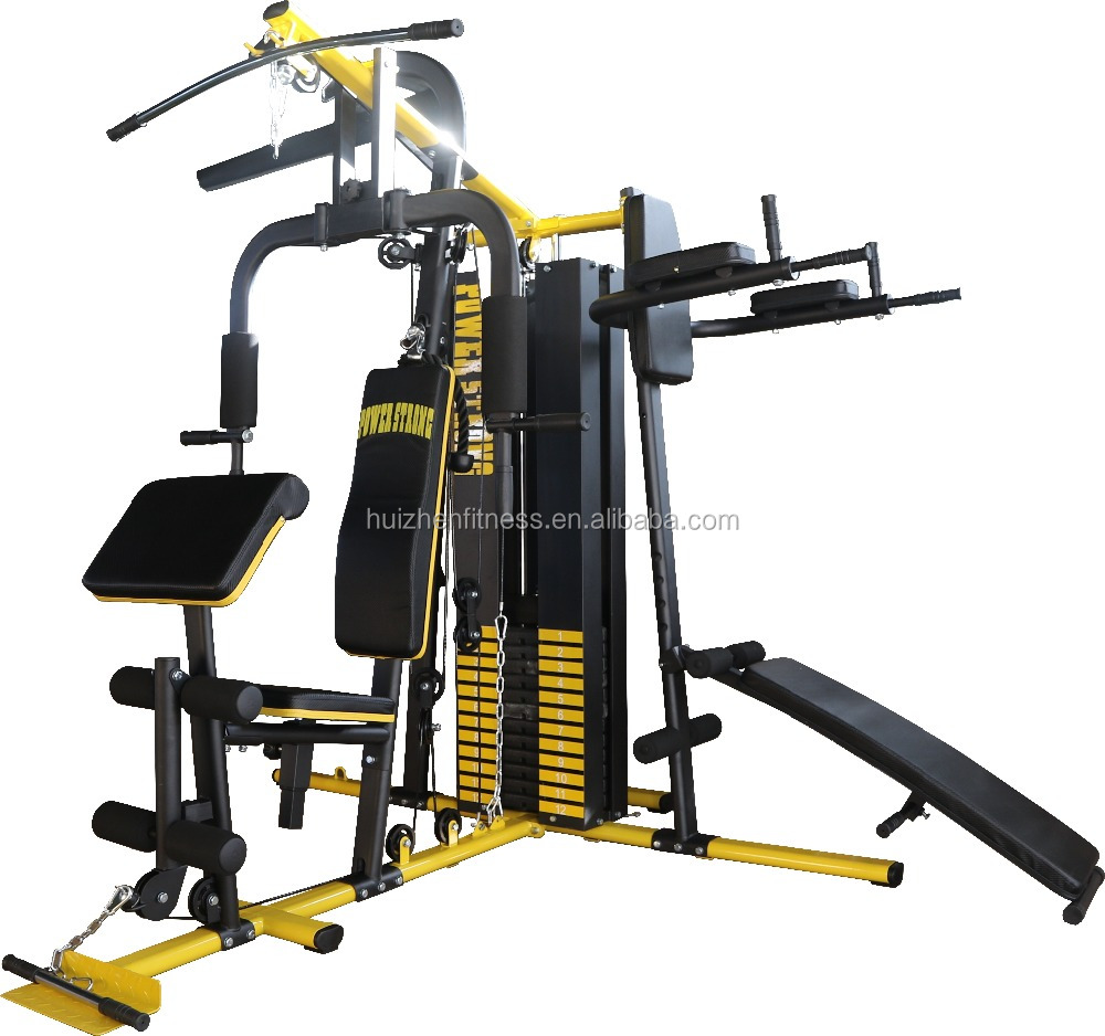 Power Strong multi station home gym three station home gym fitness equipment