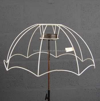 22 parachute victorian style retro wire lampshade lamp shade frame 22quot parachute victorian style retro wire lampshade lamp shade frame greentooth Image collections