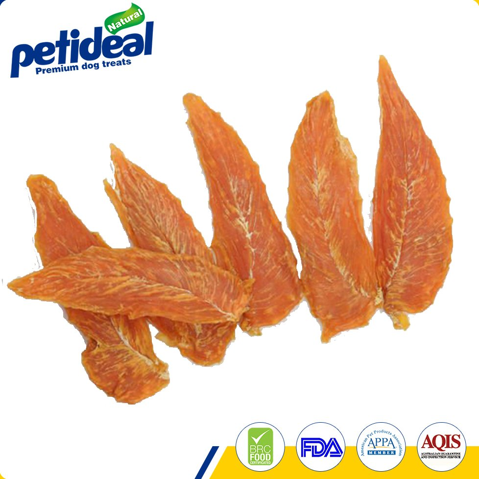 2016 good quality new chicken jerky/pet food/dog treats