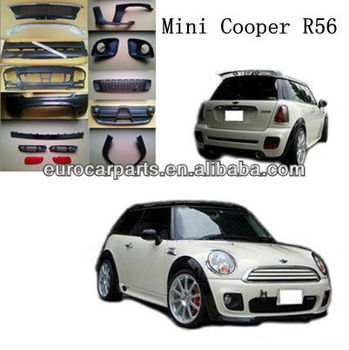 High Quality Pp Body Kit For Bmw Mini Cooper R56 Jcw Style 09 12 Product On Alibaba