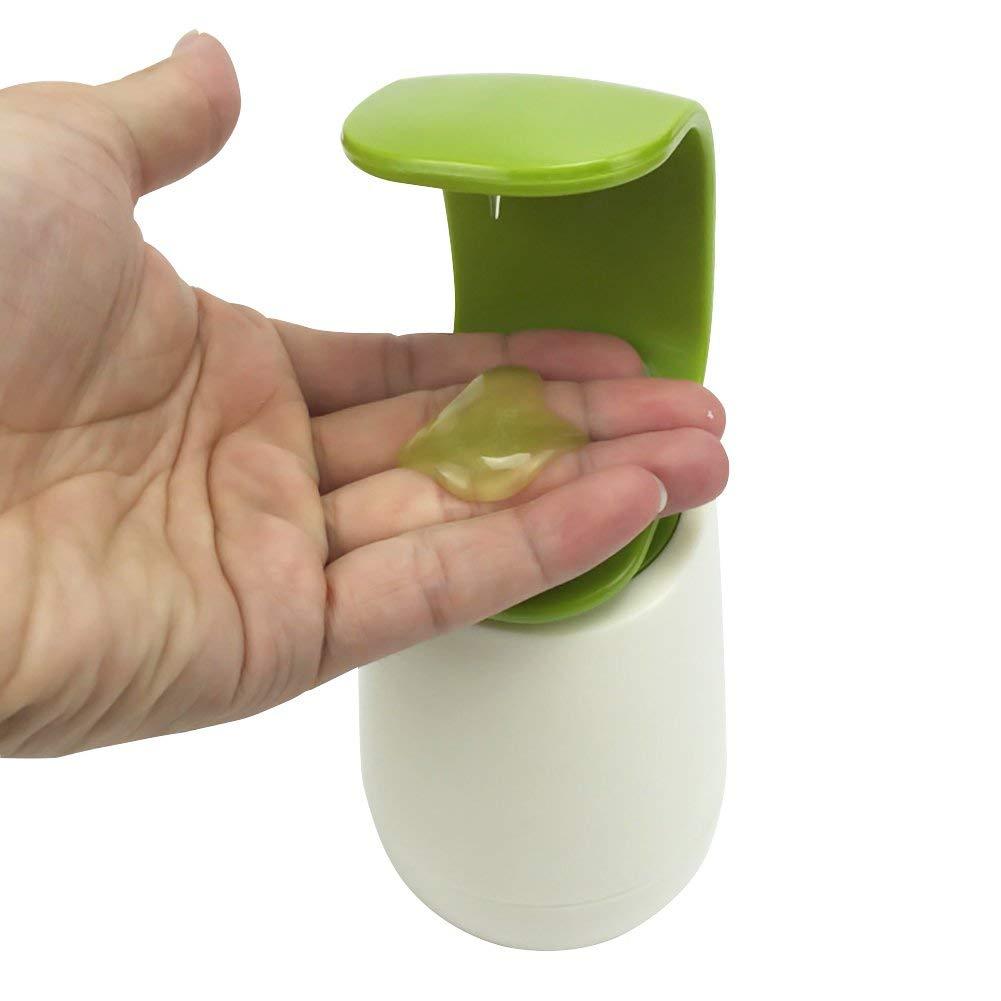 MOOUS 240ml Soap Dispenser C-Pump Single-Handed Wash Bottle Kitchen Bathroom Soap Dispenser for Essential Oils Lotions Shampoo (190x85x85MM)