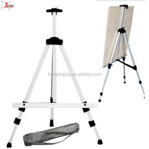 Aluminum advertising board posters board stand painting tripod easel