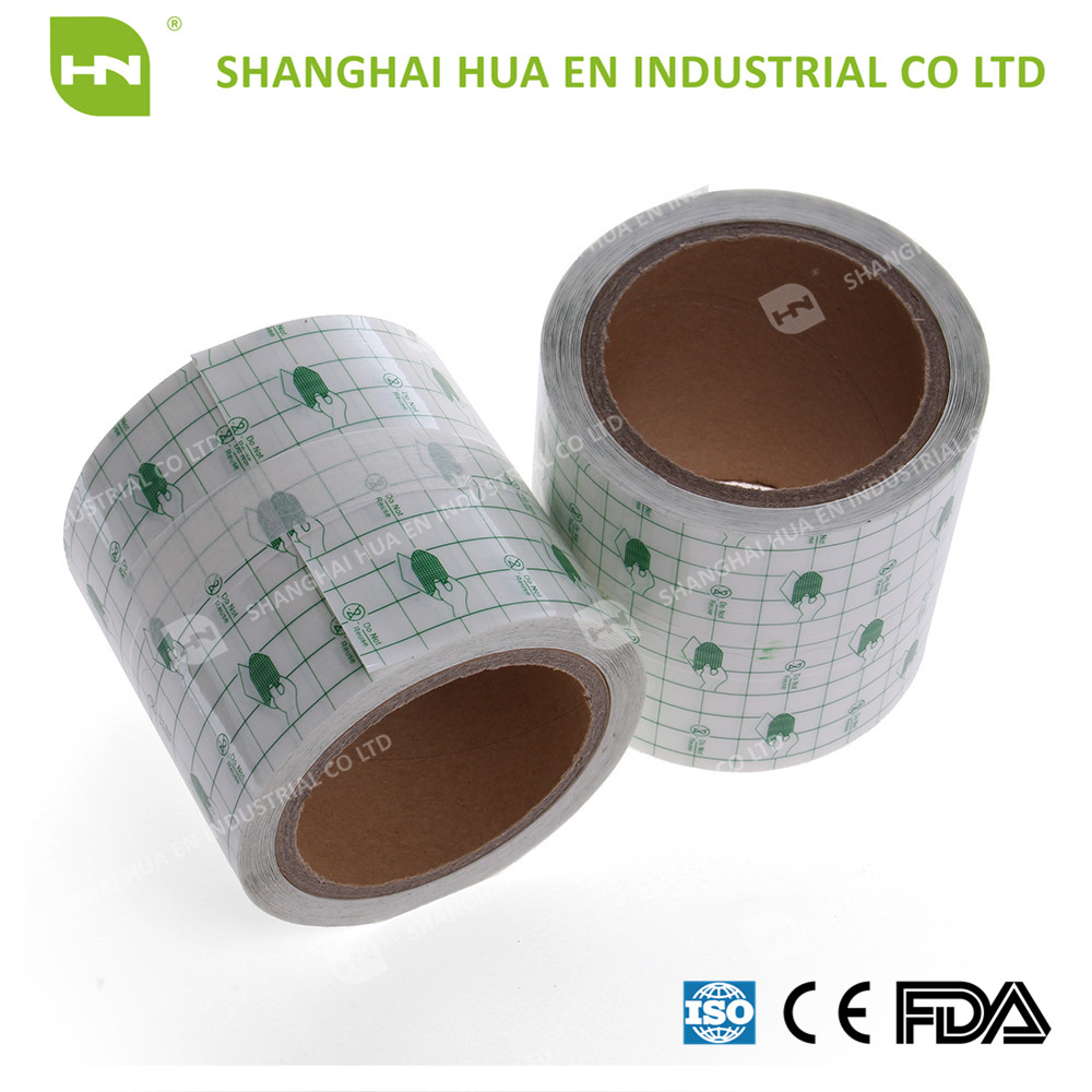 better quality transparent PU dressing roll by manufacturer