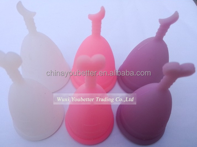Eco-friendly Healthier Woman Cup Reusable Menstrual Cup For LADIES