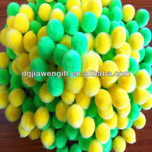 Craft Gift Plush Acrylic Pompoms For Cheerleading