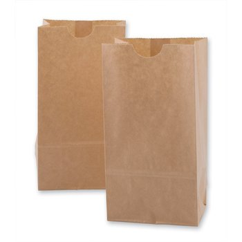 China Factory Custom Kraft Paper Grocery Bags Without Handle Bag Handles Product