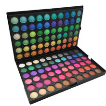 Vegan Hoge pigment lage MOQ matte metallic private label glitter <span class=keywords><strong>120</strong></span> eyeshadow palette