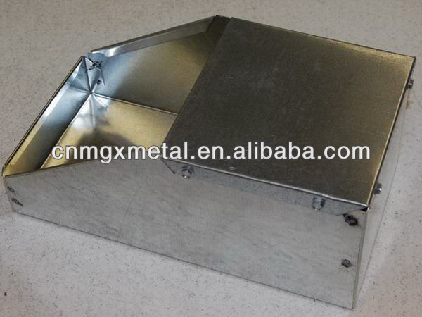 High Quality Customized Punching Galvanized Steel Metal Shelf Bin