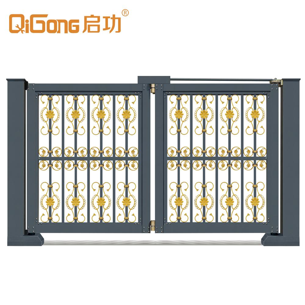 Hot sales aluminium folding gates for yard gate in gangdong