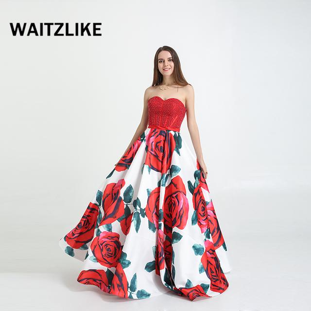 China Long Prom Dress Print Wholesale 🇨🇳 - Alibaba