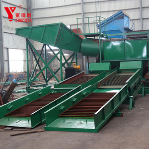 2017 Hot Sale China dryland alluvial gold mining equipment/plant