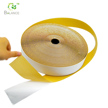 Adhesive hook loop tape with sticky backed