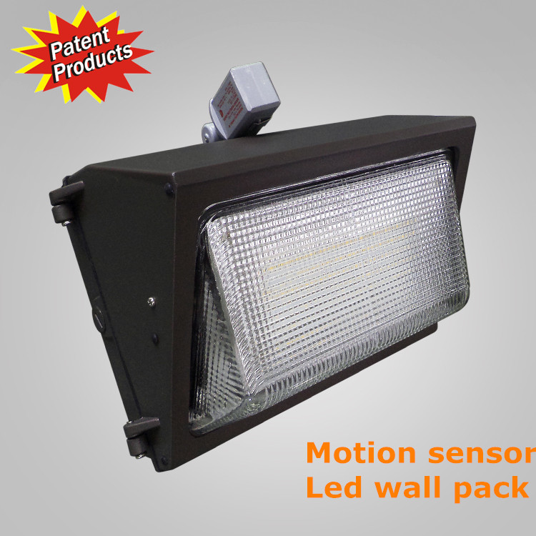 Elecluz 90-277v 60w Photocell Led Wall Pack 60w Smd Motion Sensor ...