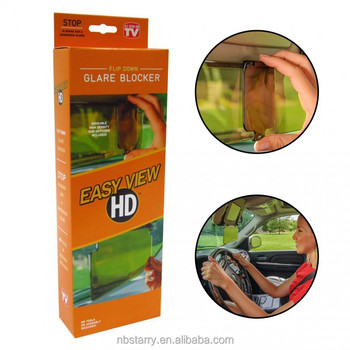 Easy View Hd Sun Visor As Seen On Tv Sun And Glare Blocker Sunshade ... 10aca514371