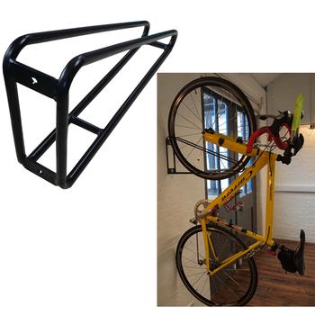 Wall Mounted Single Vertical Hanging Bike Rack Buy Vertical Bike Storage Hanging Bike Rack Single Bike Rack Product On Alibaba Com