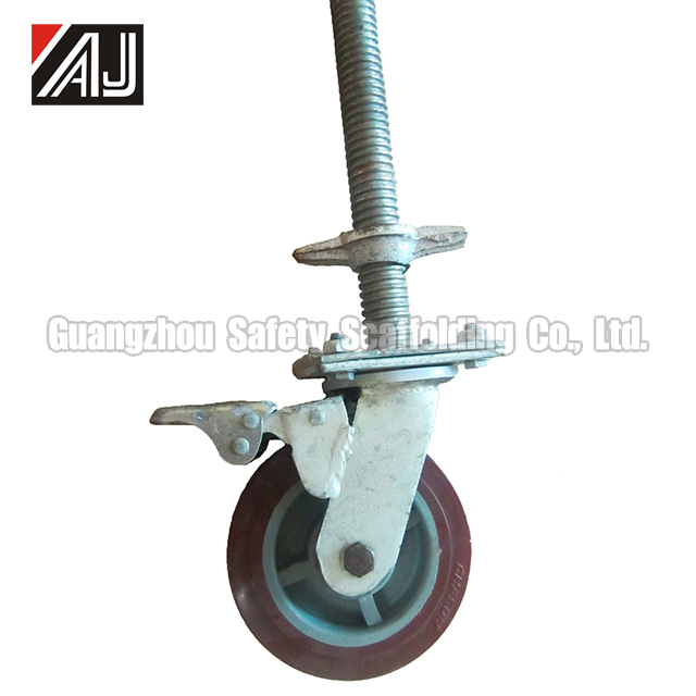 Cheap Adjustable Caster Wheels For Scaffolding