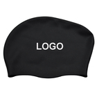 Customized logo Silicone Long hair Swimming Cap High Quality Swimming Cap with Lowest Price