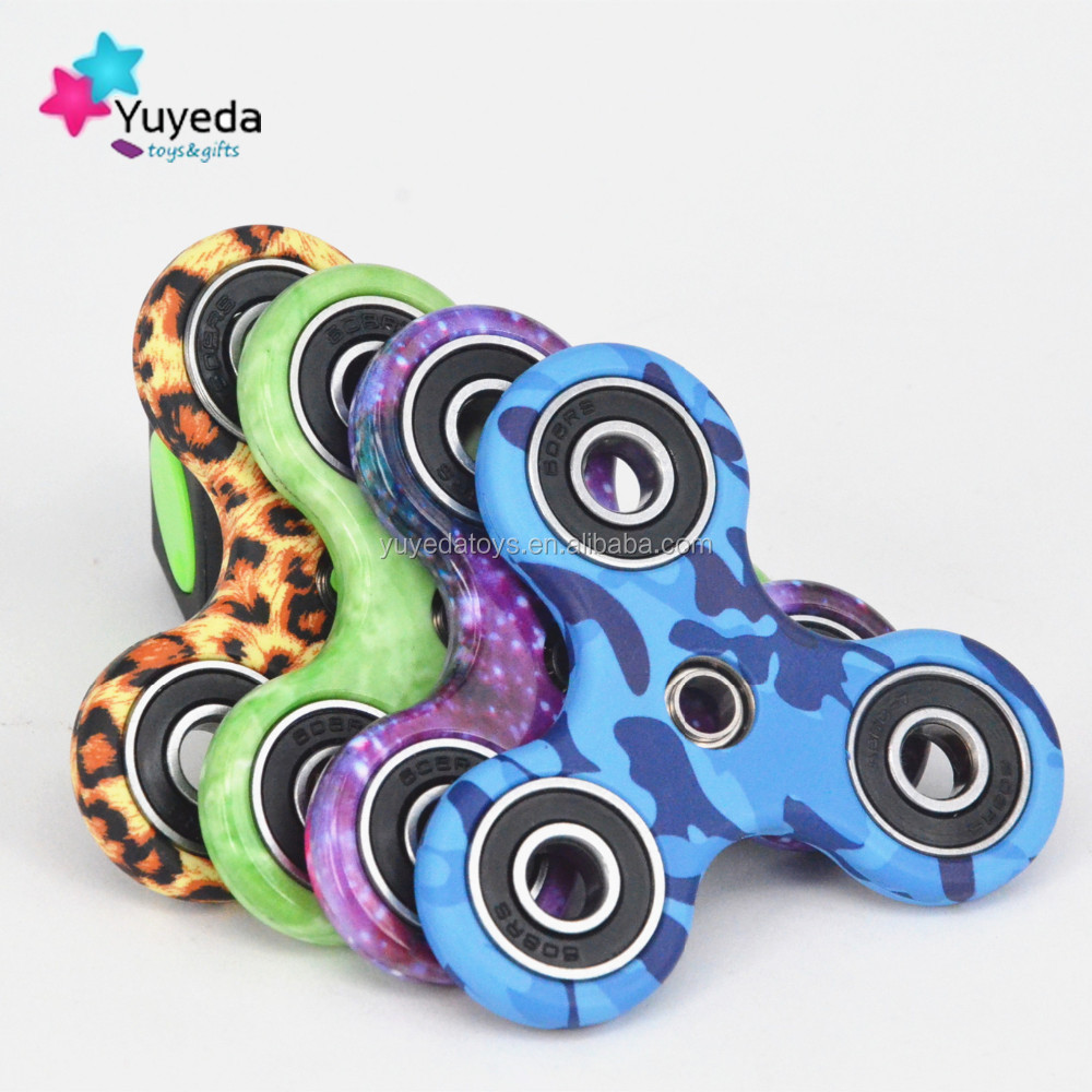 Cheap high quality camouflage colorful fidget spinner/hand spinner
