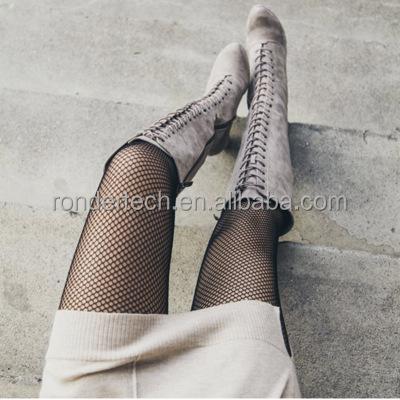 Women Hosiery Stockings Fishnet Elastic Thigh High Stockings Pantyhose Tights