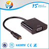 hdmi female to vga male adapter cable with usb