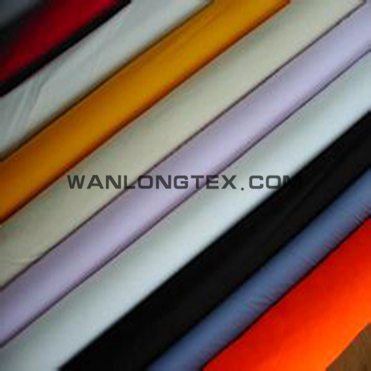 240T poly pongee fabric with Water proof for garment and lining