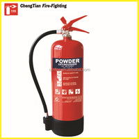 1KG ABC 40% Dry Powder Fire Extinguisher with wall bracket , ISO standard