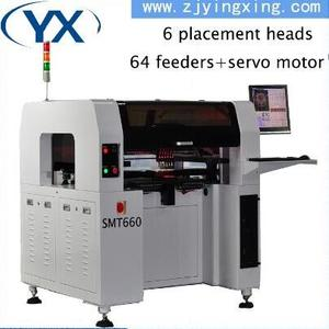 Low noise Chip mounter and high-performance led light assembly machine lower price automatic SMT production line machine