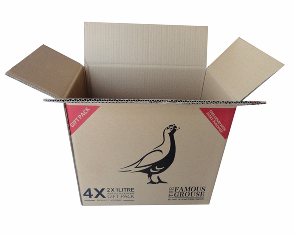 Custom logo design corrugated mailing packaging shipping carton <strong>boxes</strong>
