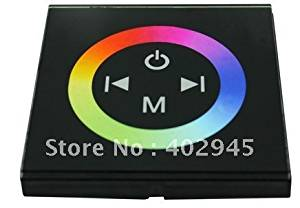 KNL AMZ RGB LED touch controller 24V 12V DC LED Touch Panel Full-color Controller rgb led strip controller